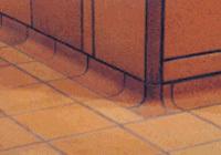 Ceramiczne płytki podłogowe