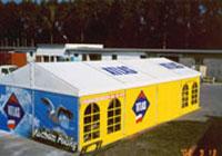 Produkcja namiotów