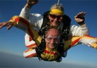 Tandemowy skok z spadochronem