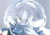 Ręcznie dekorowany kryształ ołowiany